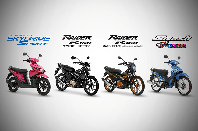 Suzuki Motorcycles Strongly At The